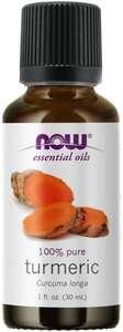 Turmeric Essential Oil 1oz Now foods