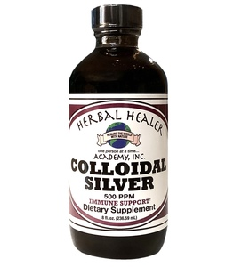 Colloidal Silver 8 ounce FREEZE WARNING SEE BELOW