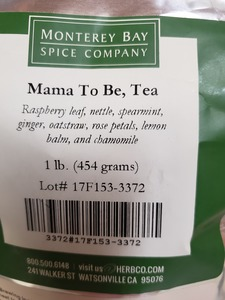 Mama To Be Tea Bulk 1lb