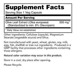 HHA Olive Leaf Capsules