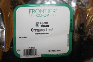 Oregano Leaf Mexican C/S 1lb