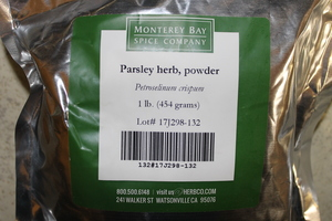 Parsley Leaf G 1lb