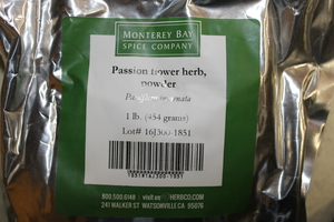 Passion Flower Herb G 1lb