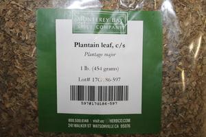 Plantain Leaf C/S 1lb