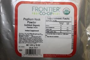 Psyllium Seed Husk Powder G 1lb