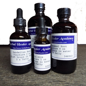 Red Clover Tops Tincture 2 oz