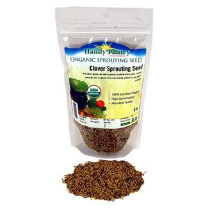 Red Clover Seeds W Organic  8oz