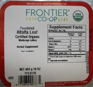 Alfalfa G 1lb