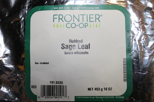 Sage Leaf Rubbed 1lb