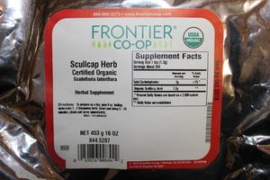 Scullcap Herb C/S 1lb