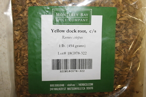 Yellowdock Root C/S 1lb