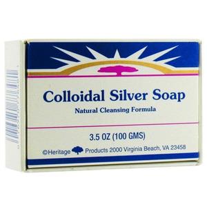 Colloidal Silver Bar Soap