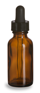 Amber Bottle w/ Dropper 1 ounce