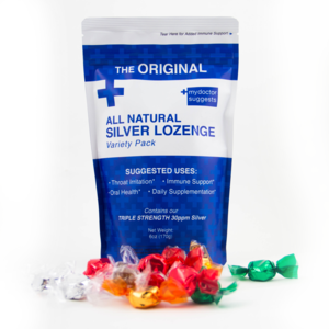 All Natural Silver Lozenge Variety - 40ct (Silver Cough Drop)
