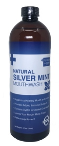 Natural Silver Mint Mouthwash 16oz