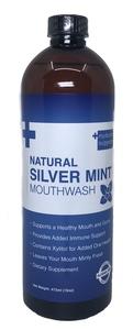Natural Silver Mint Mouthwash 16oz