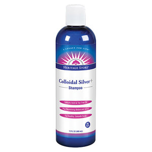 Colloidal Silver Shampoo   12.oz
