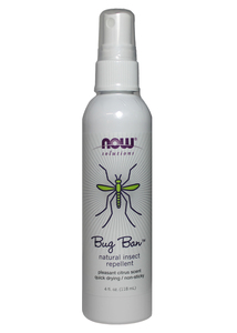 Bug Ban - 4 fl oz Natural Insect Repellent Now Foods