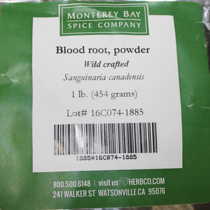 Bloodroot G 1lb