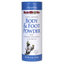 GSE Body and Foot Powder - Unscented - 4 oz