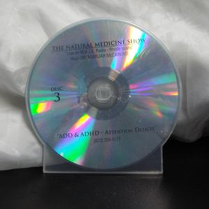 CD 3- ADD & ADHD