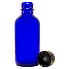 Colbalt Blue Bottle 2 ounce