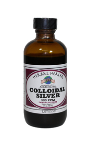Colloidal Silver 4 ounce FREEZE WARNING SEE BELOW