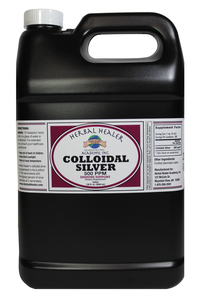 Colloidal Silver 1 gallon FREEZE WARNING SEE BELOW