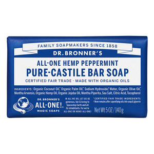 Dr Bronners Bar Soap-Peppermint