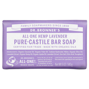 Dr Bronners Bar Soap-Lavender