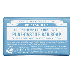 Dr Bronners Bar Soap-Baby