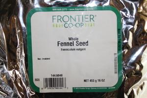 Fennel Seed W 1lb
