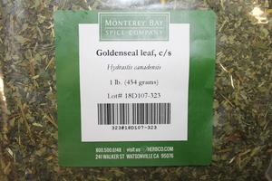 Goldenseal Leaf C/S 1lb