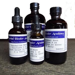 Horsetail Herb (shave grass) Tincture 1 oz